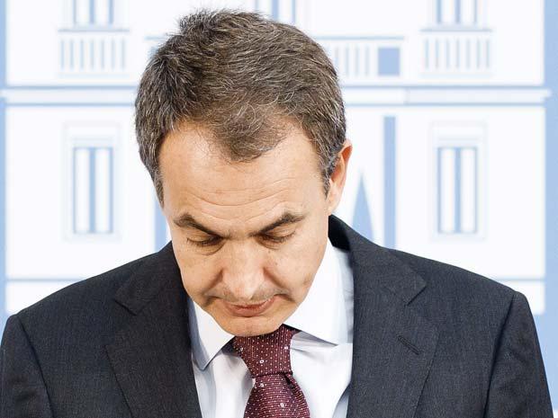 José Luis Rodríguez Zapatero dá entrevista nesta segunda-feira (26) no Palácio de Moncloa, em Madri (Foto: AP)