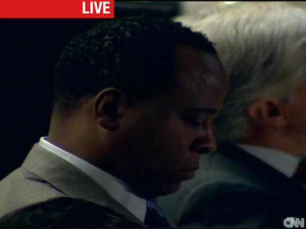 Conrad Murray no julgamento pela morte de Michael Jackson (Foto: Reprodução/Reprodução)