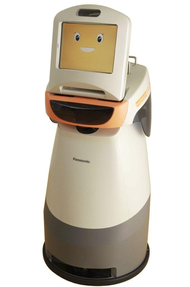 Robô promete ajudar a vida de pacientes internados no hospital ao permitir conversar com a família por meio de vídeo (Foto: Divulgação)