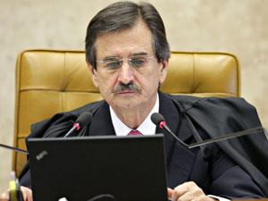 O presidente do CNJ, Cezar Peluso, durante sessão do Supremo na semana passada (Foto: Carlos Humberto / SCO / STF)