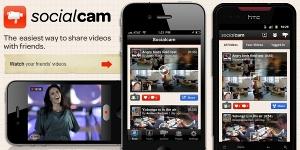 O Socialcam é um aplicativo que permite a publicação de vídeos usando um smartphone ou tablet  (Foto: Reprodução)