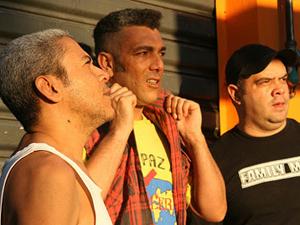 Redson (centro), vocalista da banda Cólera (Foto: Divulgação)