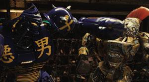 Filme 'Gigantes de Aço' mostra como serão lutas entre robôs no futuro (Foto: Divulgação)