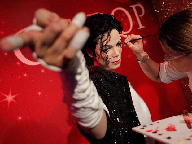 Estátua de cera de Michael Jackson (Foto: Itsuo Inouye/AP)