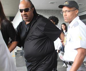 Stevie Wonder chega ao Brasil para o Rock in Rio (Foto: Marcio Honorato/Agência Estado))