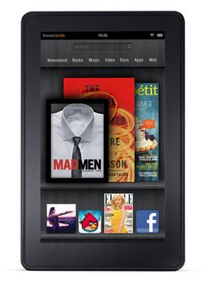 Kindle Fire, o tablet da Amazon, é o grande concorrente do iPad (Foto: Divulgação)