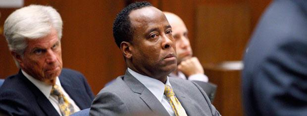 Conrad Murray no julgamento pela morte de Michael Jackson (Foto: Reuters/Reuters)