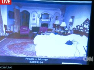 quarto de Michael Jackson (Foto: Reprodução/CNN)
