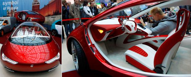 e-auto carro híbrido rússia (Foto: Alexander Demianchuk/Reuters)