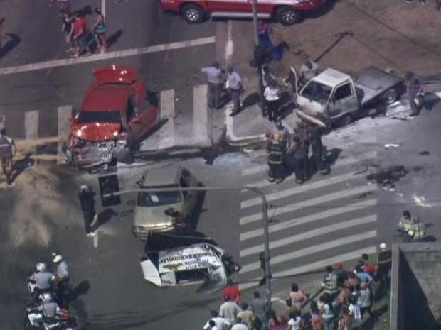 acidente inajar (Foto: Reprodução/TV Globo)