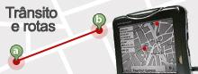 Trace rotas e veja a situação do trânsito (G1)