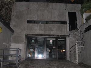 Boate Sonic Bar, onde a confusão teria começado (Foto: Roney Domingos/ G1 )