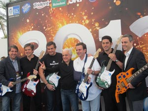 Anúncio rock in rio 2013 (Foto: Carolina Lauriano  /G1)