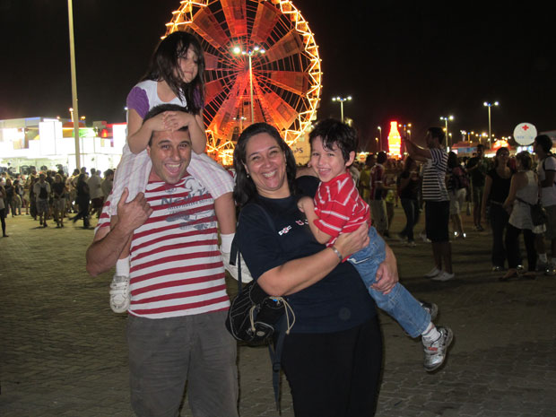 familia rock in rio (Foto: Tahiane Stochero/G1)