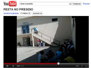 Polícia investiga bingo em presídio de Cajazeiras, PB (Foto: Reprodução/Youtube)
