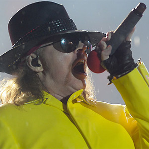 Guns N' Roses toca no Rock in Rio (Foto: Flavio Moraes/G1)