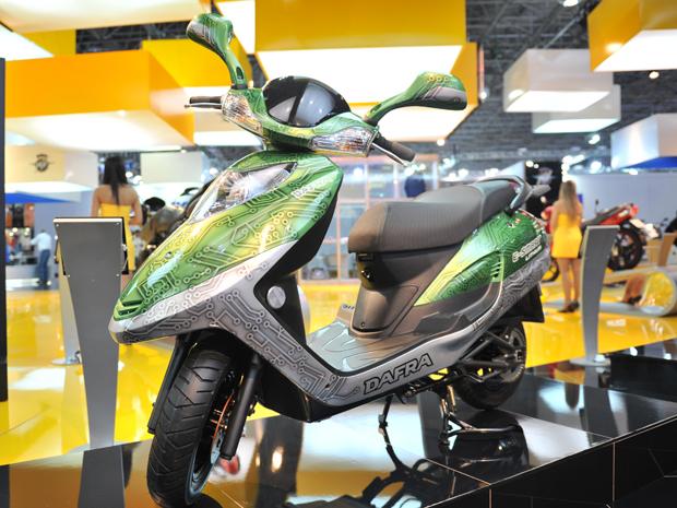O Smart elétrico ainda é um protótipo (Foto: Raul Zito/ G1)