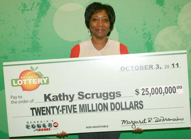A americana Kathy Scruggs (Foto: Georgia Lottery)