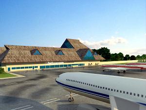 Para preservar o Parque Nacional de Jericoacoara, aeroporto está sendo construído em Cruz. (Foto: Governo do Estado/Divulgação)