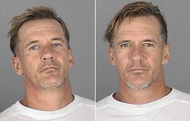 Donald Gartner, de 48 anos, foi preso duas vezes em apenas duas horas em Land O'Lakes. (Foto: Divulgação)