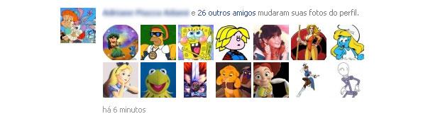 Em 24 horas, 100 mil usuários trocaram seus fotos de perfil (Foto: Reprodução)