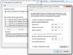 Configuração de DNS no Windows (Foto: Reprodução)