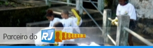 Parceiro do RJ mostra limpeza na Tijuca  (Reprodução/TV Globo)