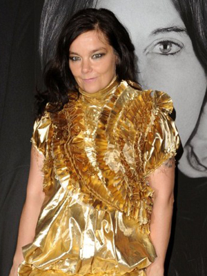 A cantora Bjork (Foto: Stephen Lovekin/Getty Images/AFP)