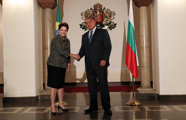 Dilma se reuniu com primeiro-ministro búlgaro, Boyko Borissov (Foto: Roberto Stuckert Filho / Presidência)
