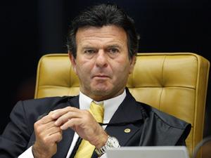 Luiz Fux analisa ação da OAB para que o STF declare a Ficha Limpa constitucional (Foto: Fellipe Sampaio/SCO/STF)