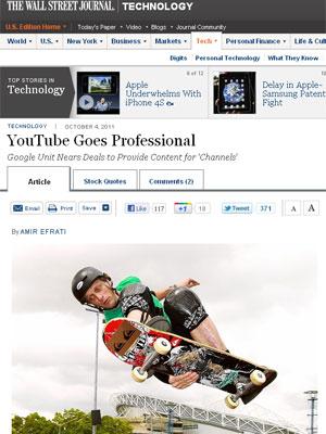 Conforme jornal, ícone do skate Tony Hawk irá promover conteúdo para o YouTube (Foto: Reprodução)