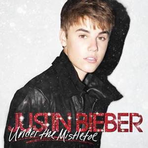 Capa do disco de Natal de Justin Bieber (Foto: Divulgação)