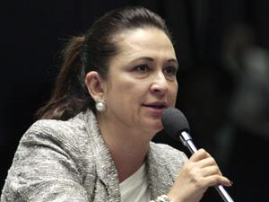 Kátia Abreu (TO) diz que quer participar de 3 comissões no Senado (Foto: Luiz Alves/Agência Senado)