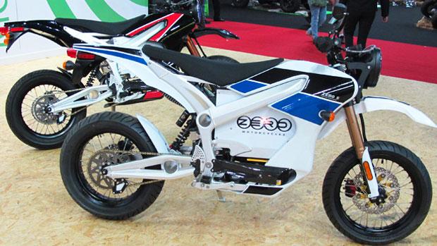 Salão Duas Rodas lança três motos elétricas (Rafael Miotto/G1)
