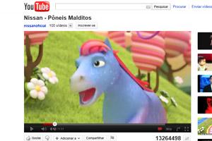 comercial pôneis malditos (Foto: Reprodução/YouTube)