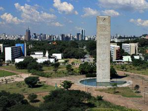 Campus da USP na Cidade Universitária, em São Paulo (Foto: Divulgação/USP)