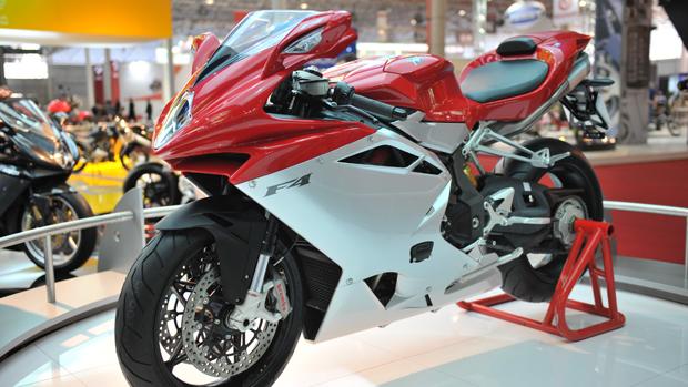 De volta ao Brasil, MV Agusta lança moto em parceria com a Ferrari (Raul Zito/ G1)