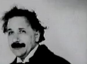 Albert Einstein, um 'Crazy One' (Foto: Reprodução)