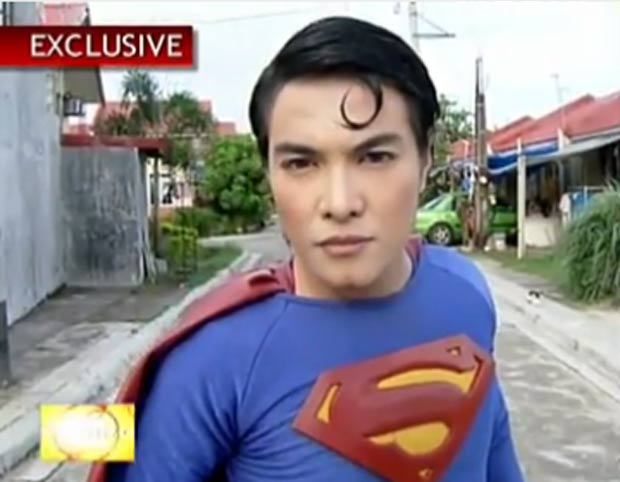 Herbert Chavez fez cirurgias para ficar parecido com 'Super-Homem'. (Foto: Reprodução/ABC News)