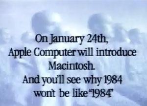 '1984', o anúncio mais famoso da Apple (Foto: Reprodução)