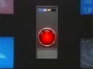 HAL 9000 faz comercial da Apple (Foto: Reprodução)