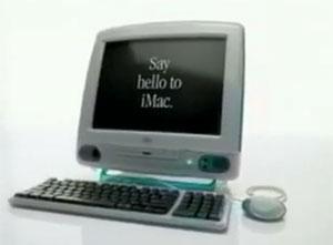 iMac se conecta facilmente na web em comercial (Foto: Reprodução)