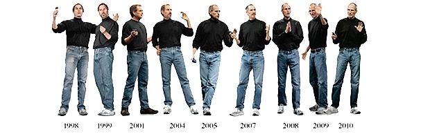 Revista Fast Company criou uma linha do tempo do estilo criado por Steve Jobs (Foto: Divulgação)