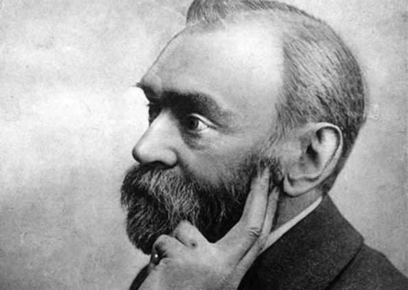 Alfred Nobel, criador do prêmio, em foto não datada (Foto: AP)