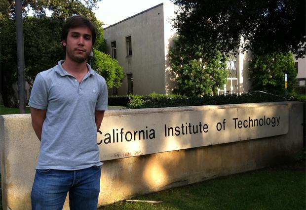 Pedro Coelho trocou a Universidade de Oxford pelo Caltech (Foto: Arquivo pessoal)