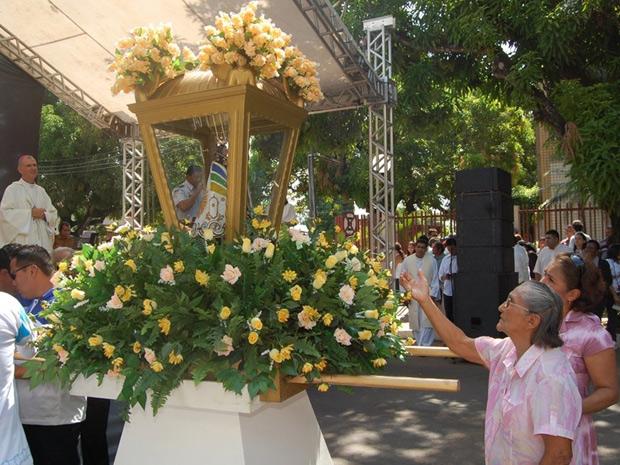 Círio de Nazaré também é realizado em Macapá neste domingo (9) (Foto: Divulgação/ExLibris Comunicação Integrada)
