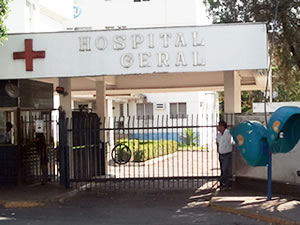 Hospital Geral em Cuiabá (Foto: Leandro J. Nascimento/G1)