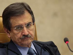 Presidente do STF, Cezar Peluso, em sessão da Corte nesta quinta (6) (Foto: Nelson Jr./SCO/STF)