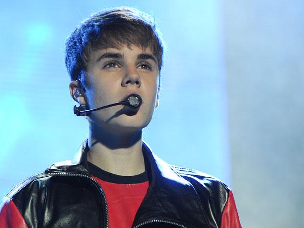 Justin Bieber fez sua primeira apresentação em São Paulo neste sábado (Foto: Flávio Moraes/G1)
