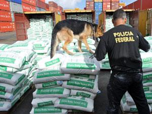 cocaína pe (Foto: Divulgação / Polícia Federal)